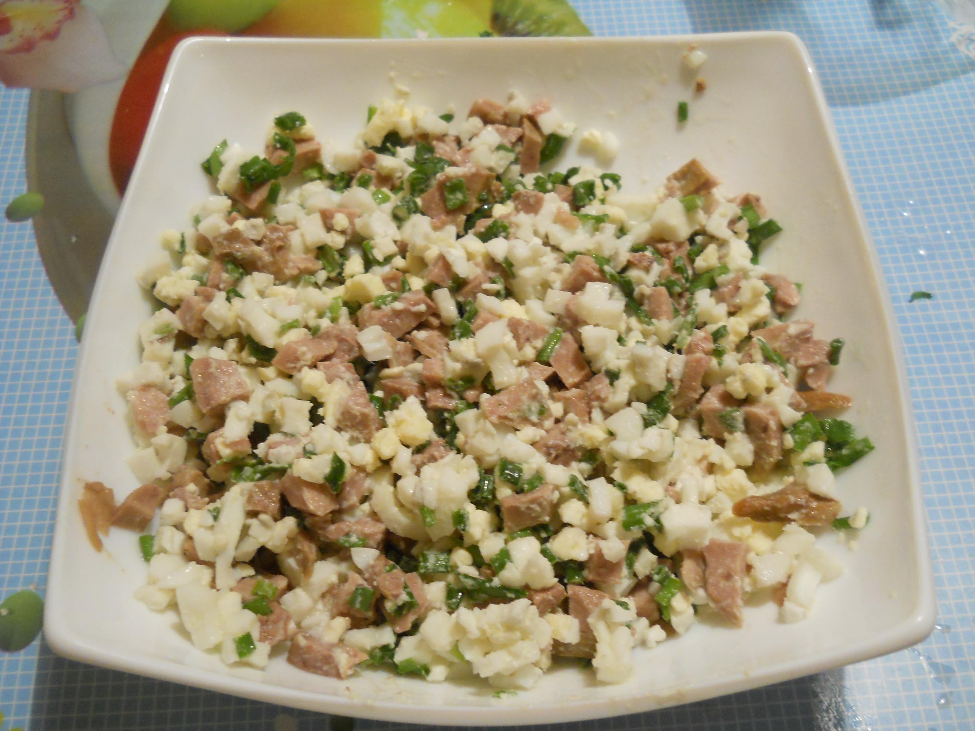 Салат из печени трески с огурцом пошаговый рецепт быстро и просто от 55