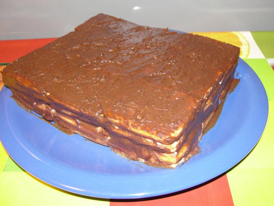 торты без выпечки рецепты из вафель